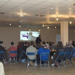 Over 70 attendees at the 51.6 Be More Pirate workshop